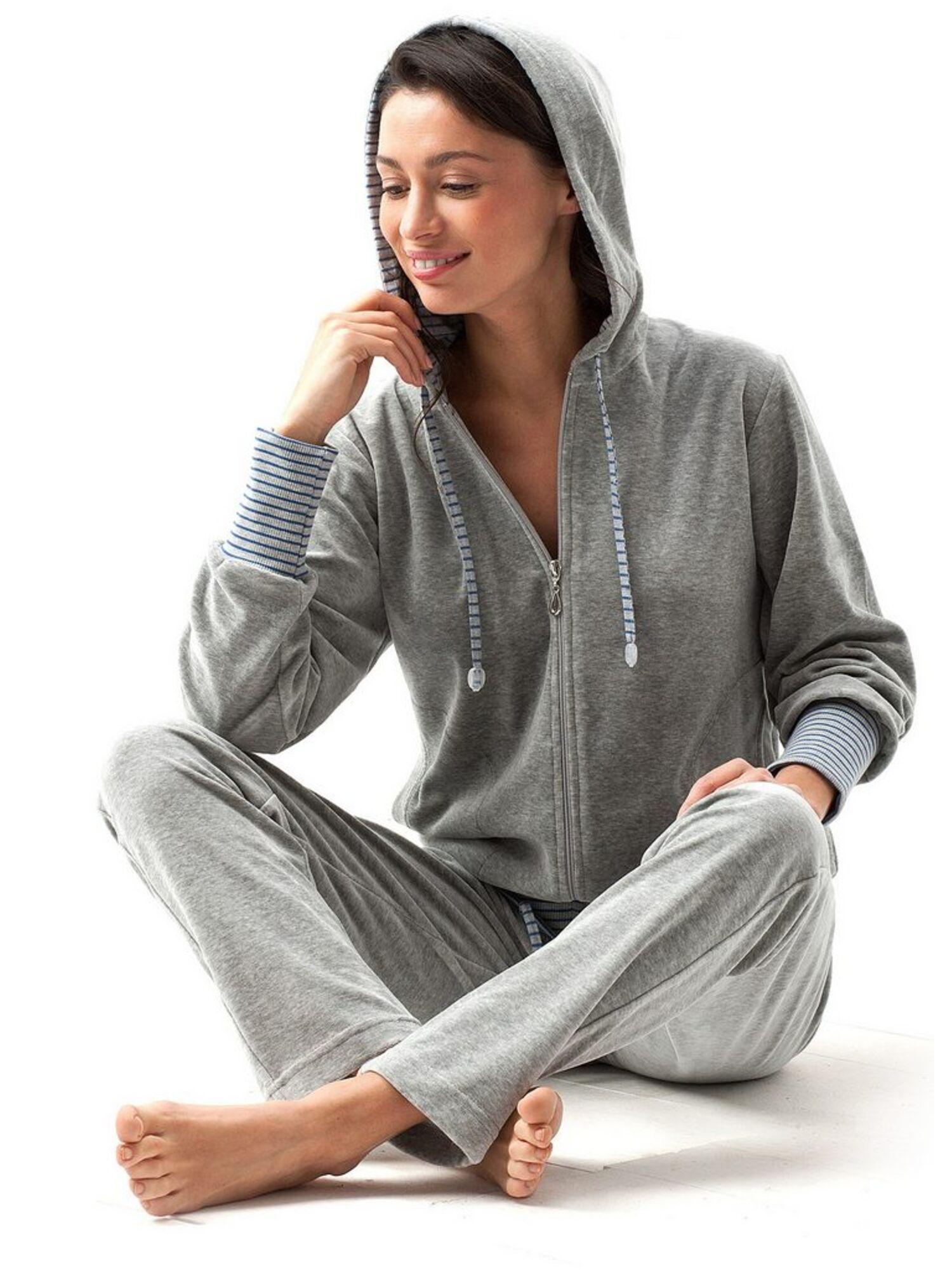Домашний костюм 365 DRES, серый, Luna