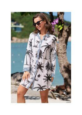 Рубашка, туника пляжная Доминикана 1421, Mia-Amore
