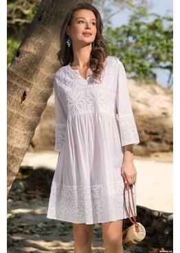 Рубашка, туника пляжная Доминикана 6897, Mia-Amore