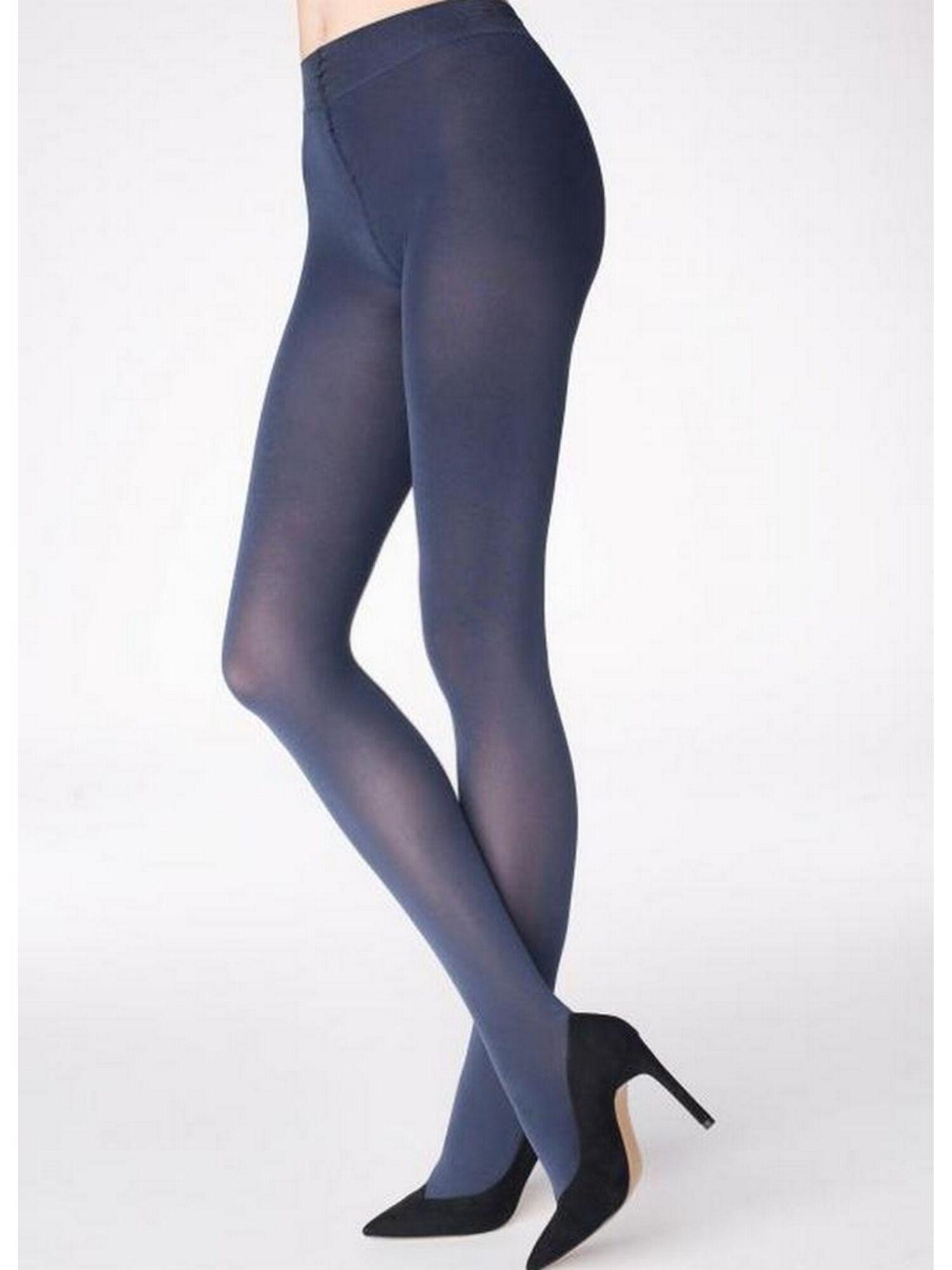 Колготки женские SHINE E57 100 den синий, MARILYN