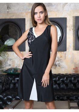"""№17601 Платье """"Black/White"""""""