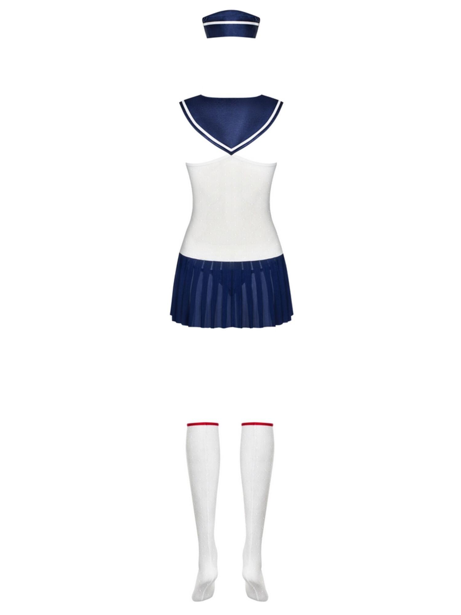 Костюм 813 MARINE COSTUME белый/синий