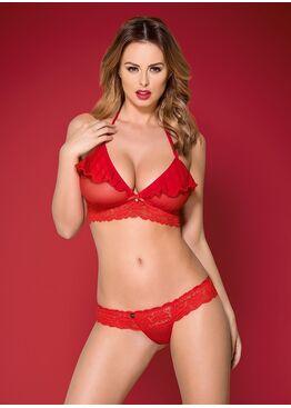 Комплект белья 863 SET-3 красный