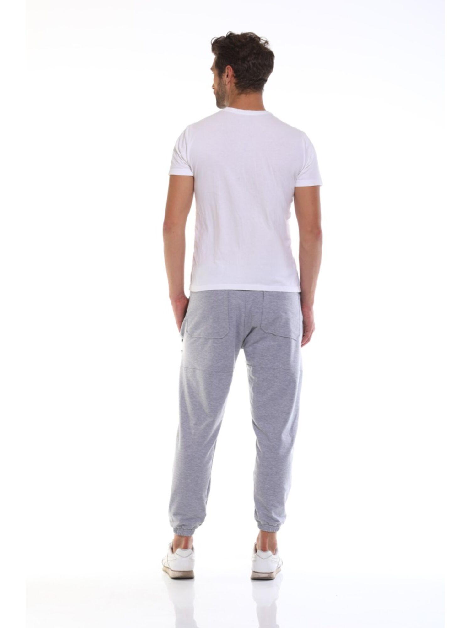 Штаны спортивные мужские 008 Wanderer серый меланж, Peche Monnaie