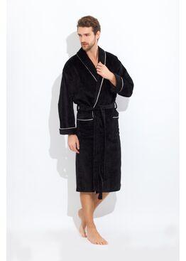 Халат Elegant 1588 черный