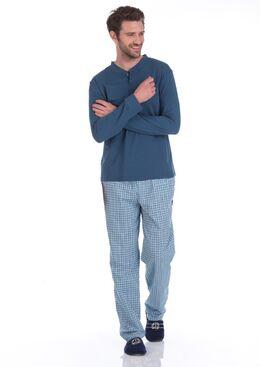 Пижама BOSS №27 2131/1 синий