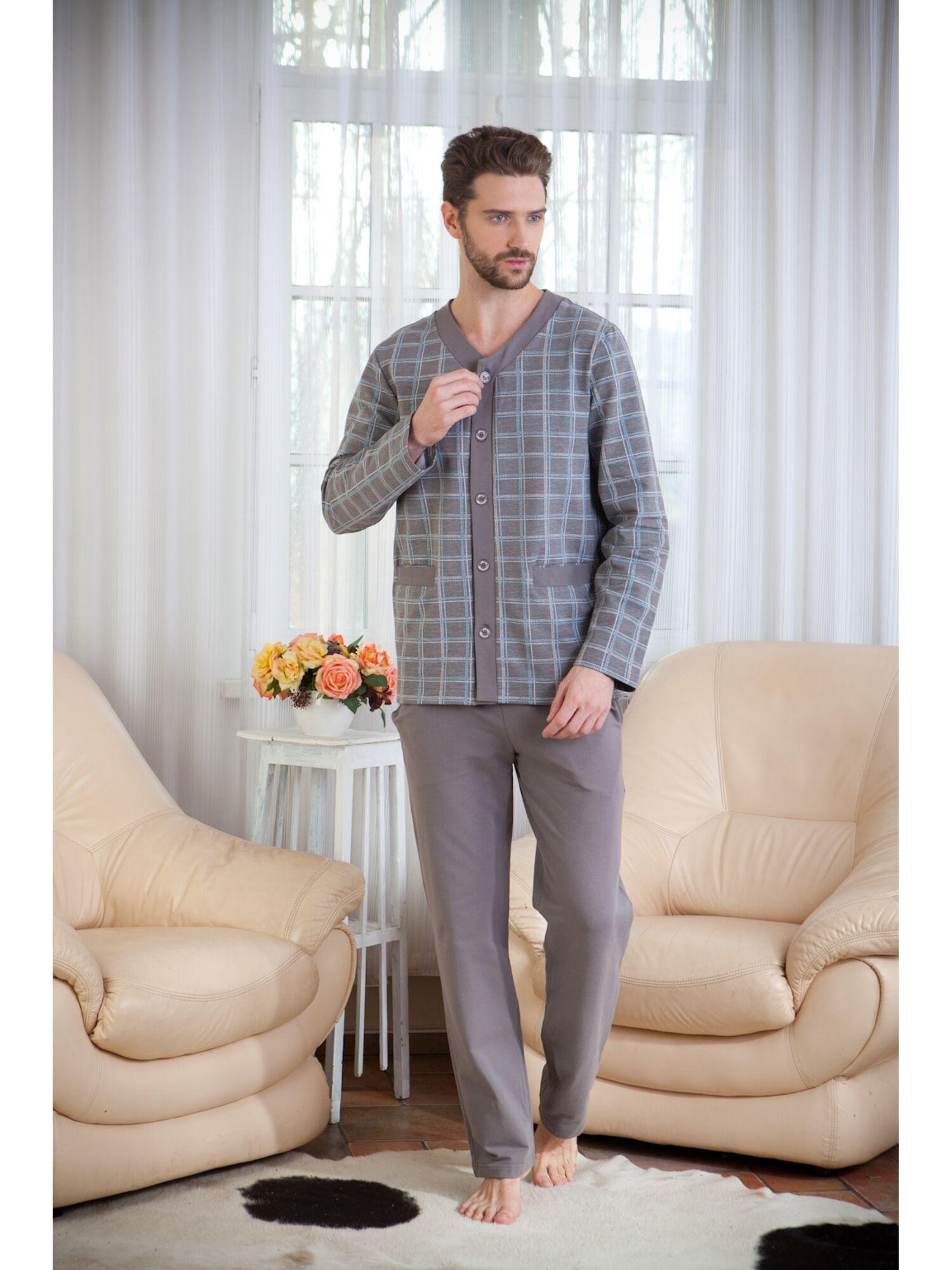Пижама мужская Аtmosphère 9 серый, Peche Monnaie (Россия)