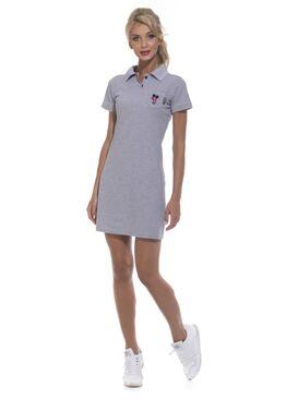 Платье 1705 Coquet серый