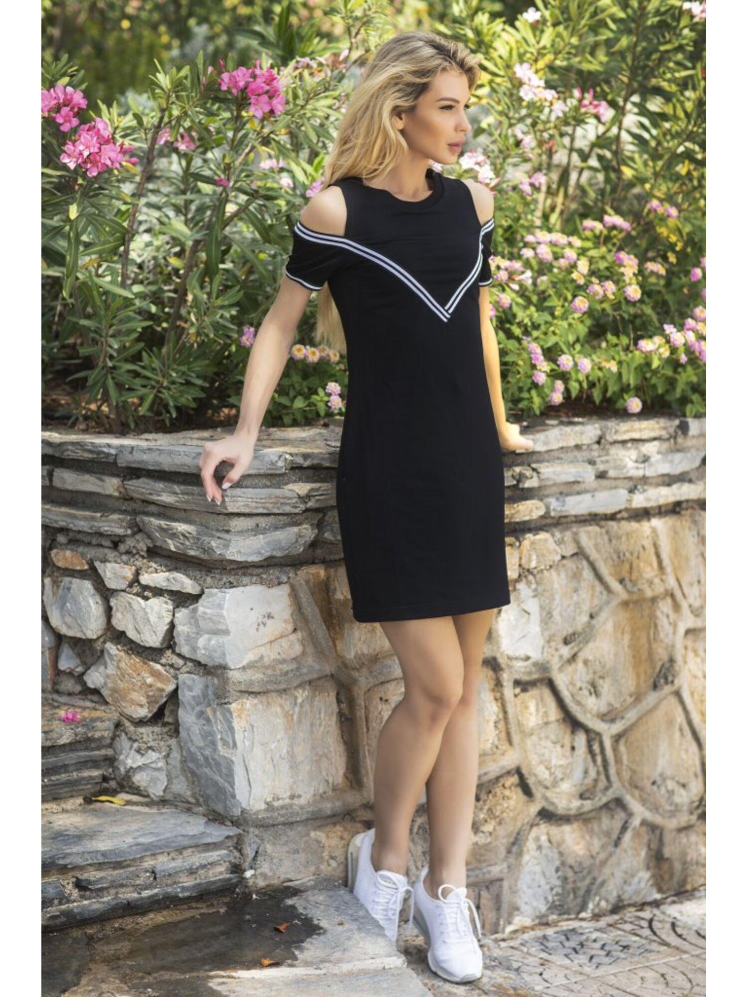 Платье женское Brisk 1802 черный