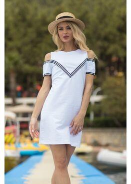 Платье женское Brisk 1802 белый