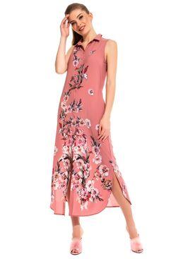 Платье - туника из вискозы Sunrise 221 пудра