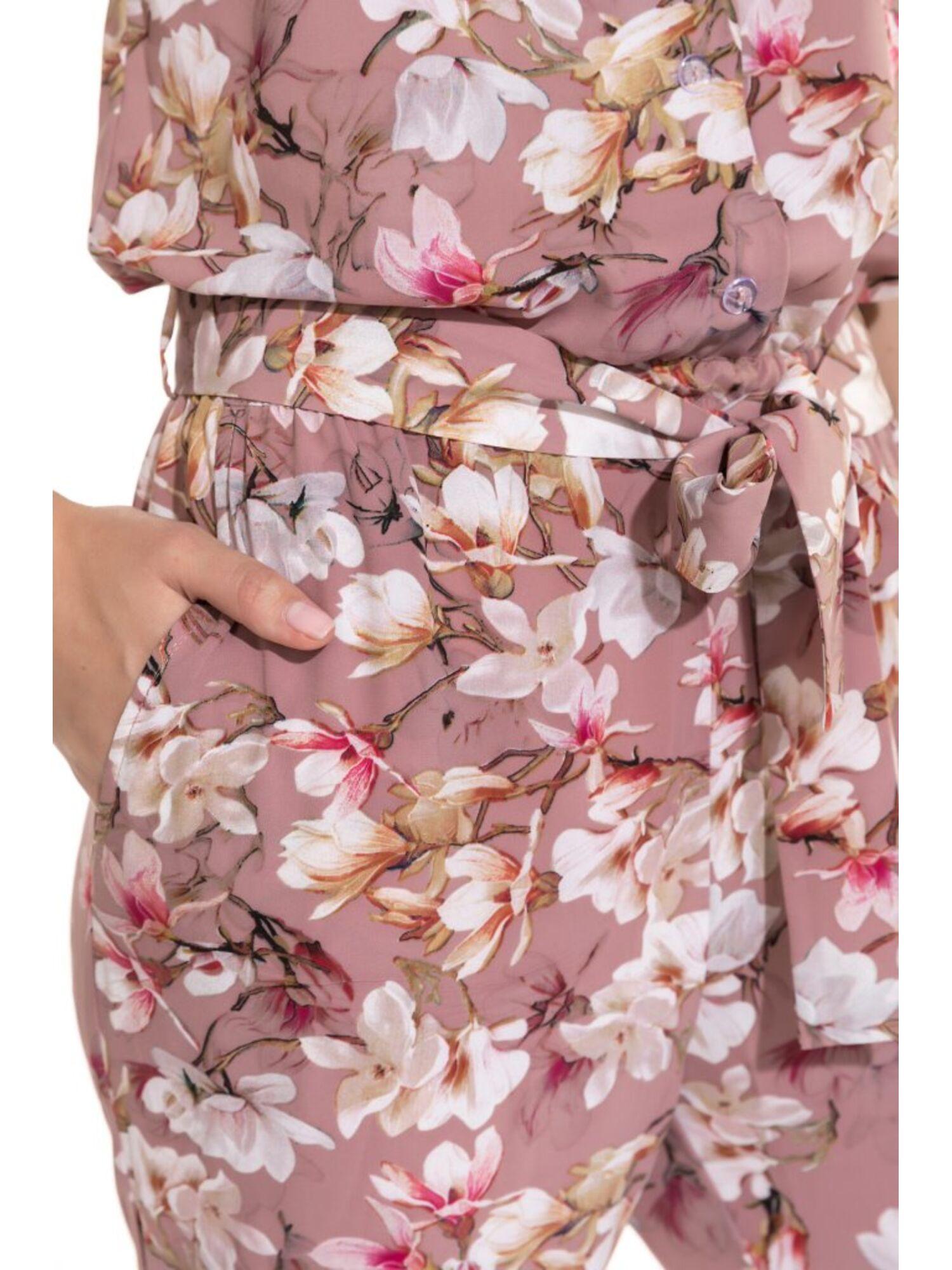 Комбинезон из натуральной вискозы Fleurs de magnolia 223