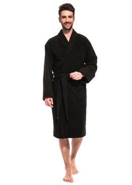 Халат банный махровый Vinous Label 365 черный