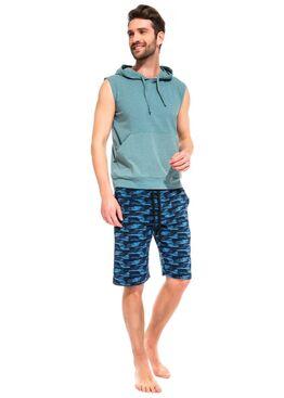 Легкие трикотажные шорты Aisance 39 синий