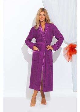 Халат LILY 725 фиолетовый