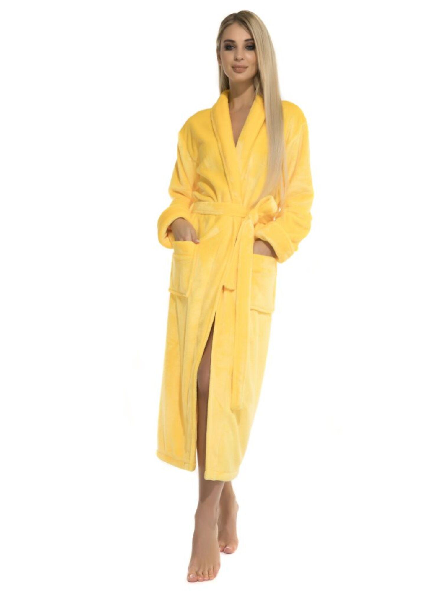 Халат женский Moderne et léger 732 желтый