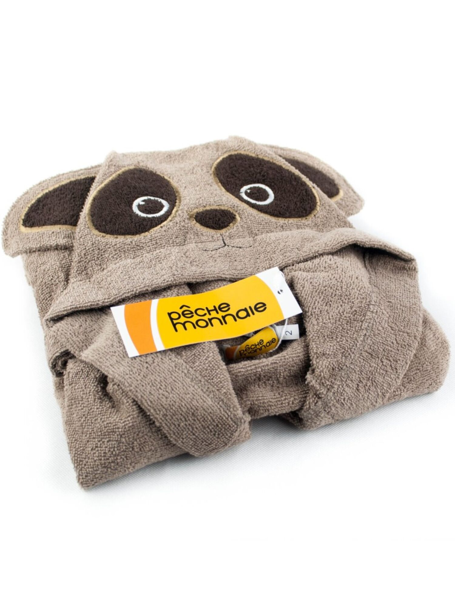Халат детский Brown Panda темный бежевый