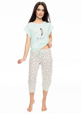 Пижама PY-1056 мята