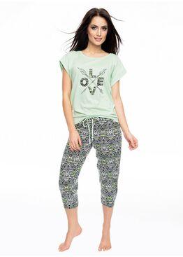 Пижама PY-1059 зеленый