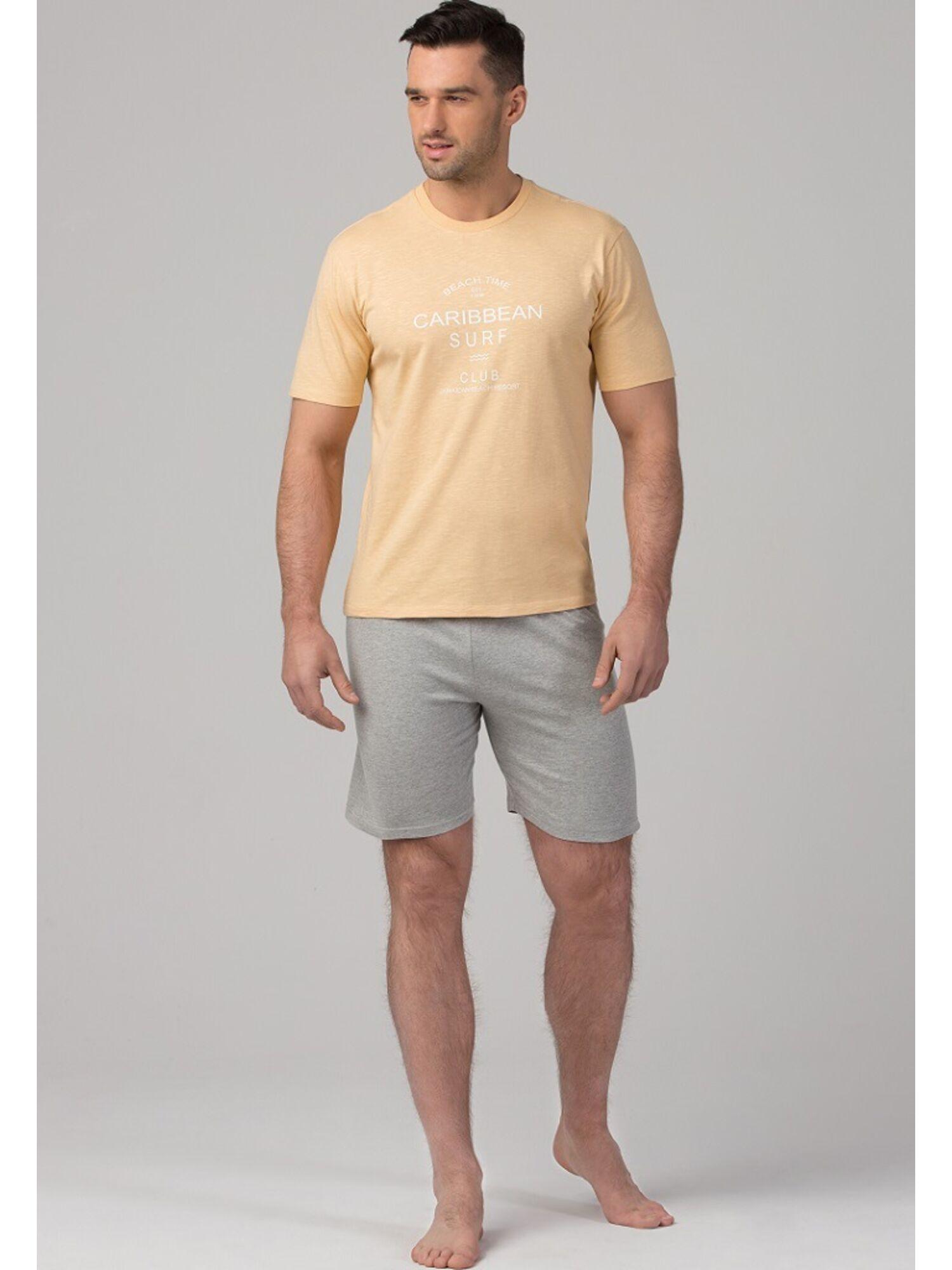 Пижама мужская PY-106 бежевый