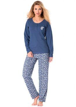 Пижама PY-1079 синий