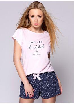 Пижама женская с шортами JACQUELINE, SENSIS