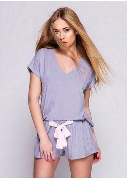 Комплект женский с шортами SAVANNAH FIOLET, SENSIS