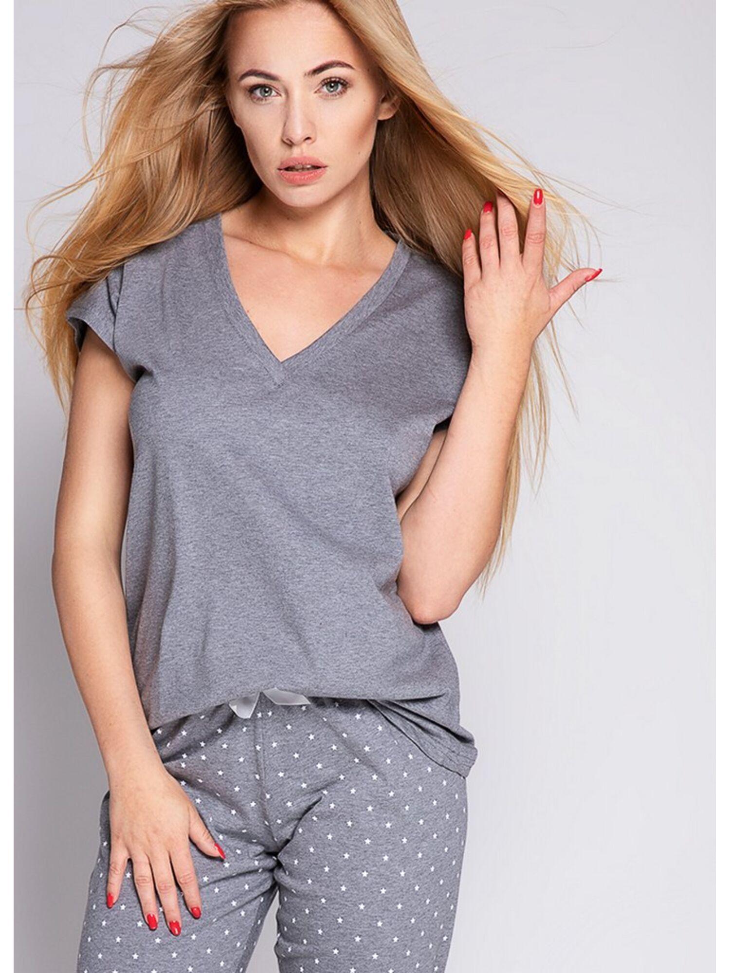 Комплект женский со штанами ANABELL, серый, SENSIS