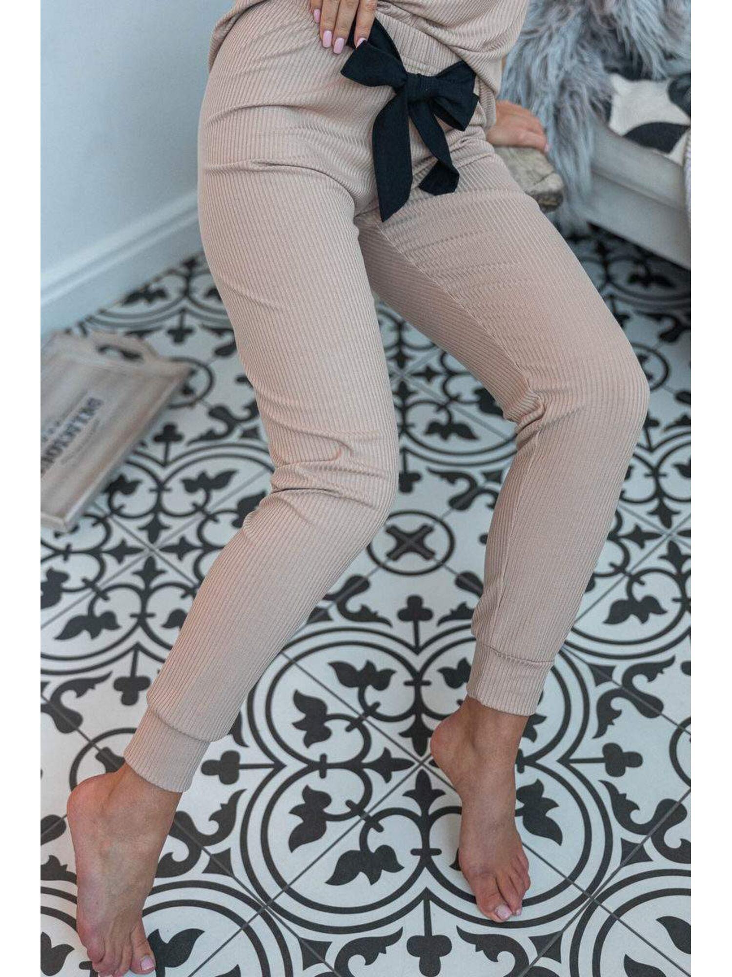 Комплект женский со штанами KOMPLET MIREIA, бежевый, Sensis