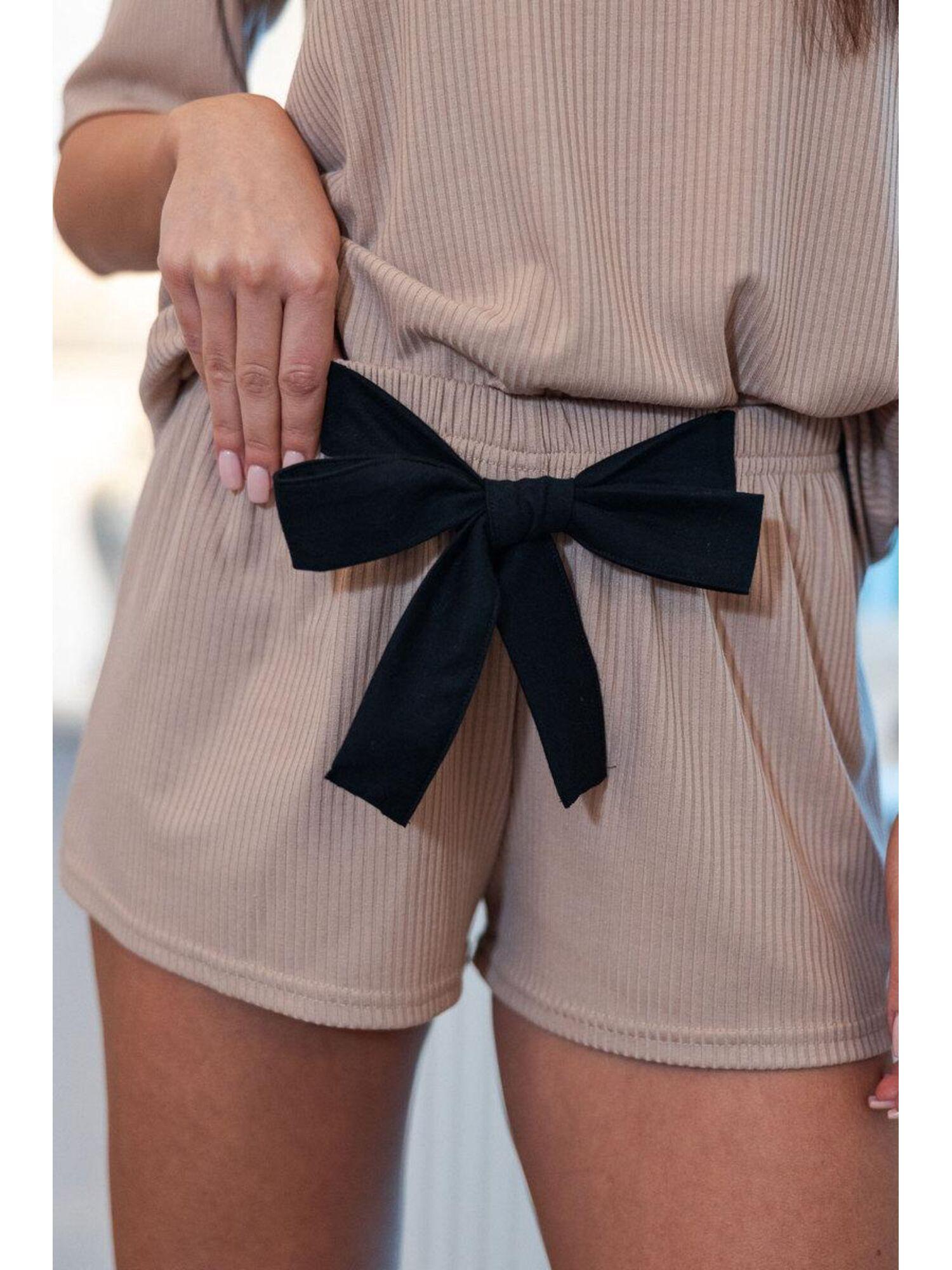 Комплект женский с шортами KOMPLET SEILA, бежевый, Sensis
