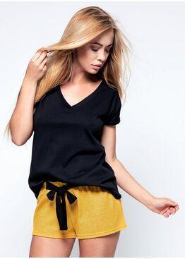 Комплект женский с шортами SUSAN MUSTARD, SENSIS