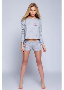 Пижама NIGHT серый