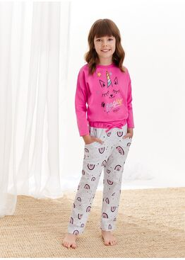Пижама для девочек со штанами 1179/1180 S20/21 NADIA, TARO