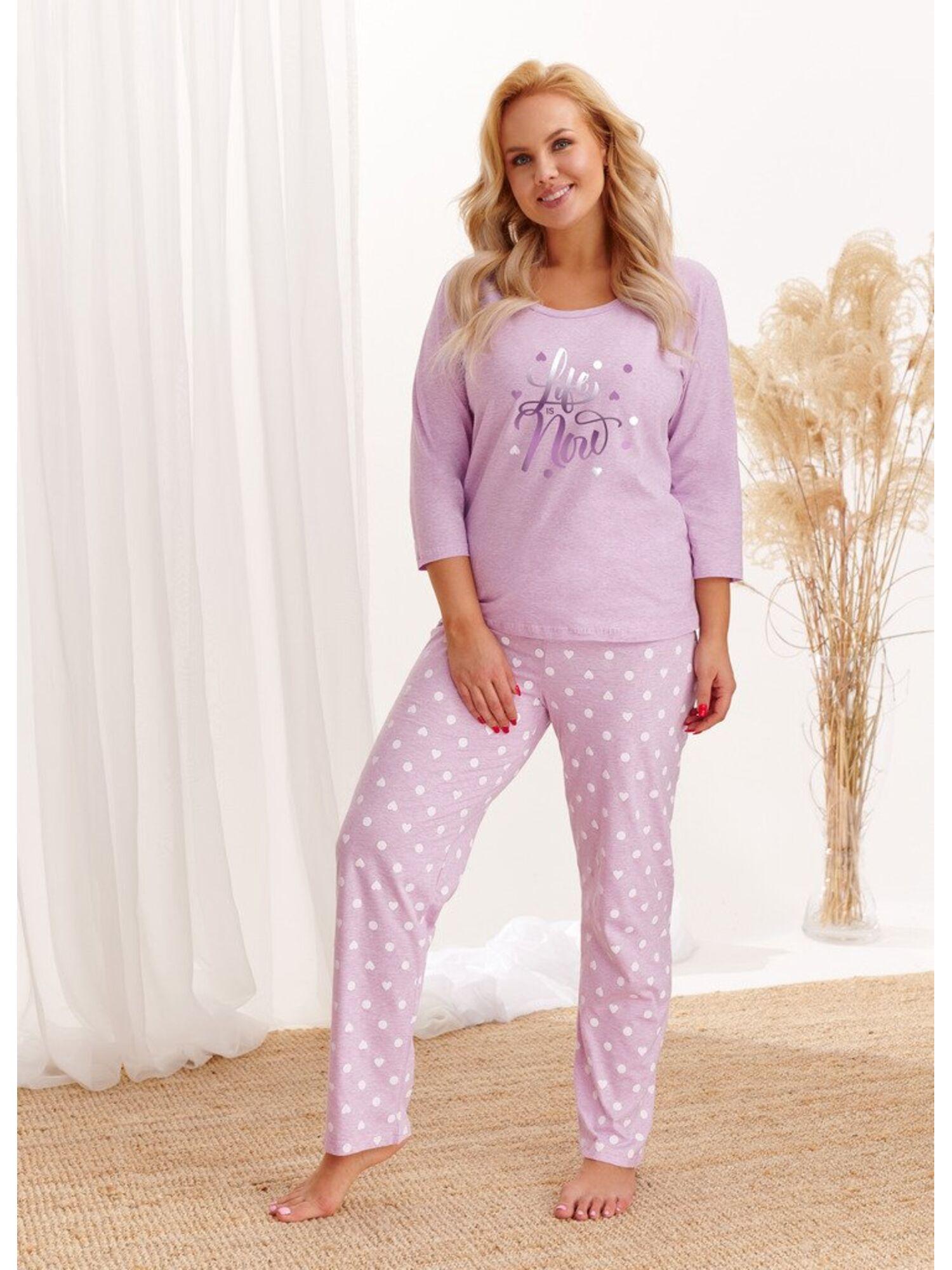 Пижама женская со штанами 1190/2468 AW20/21 NADIA, фиолетовый, Taro