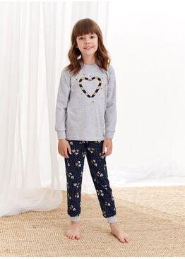 Пижама для девочек 433/434 AW20/21 ADA, Taro