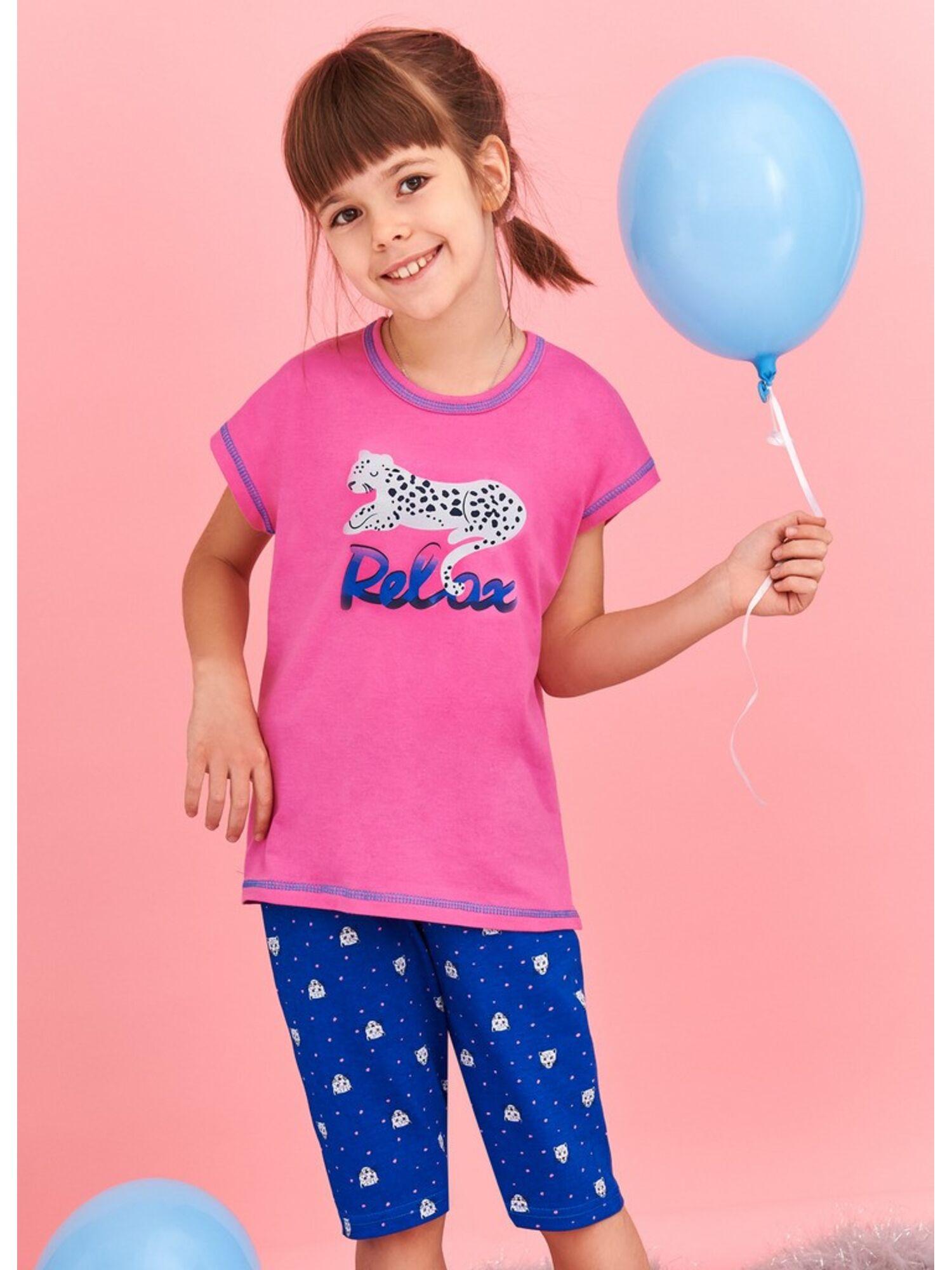 Пижама детская из хлопка 2202/2203 S20 AMELIA, TARO