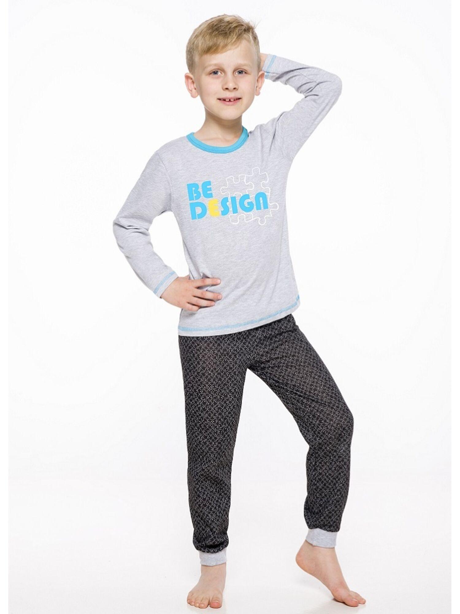 Пижама детская с штанами 2344/2345 19/20 CZAREK св.серый, Taro