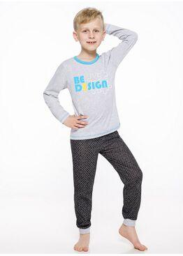 Пижама детская 2344/2345 19/20 CZAREK св.серый, Taro