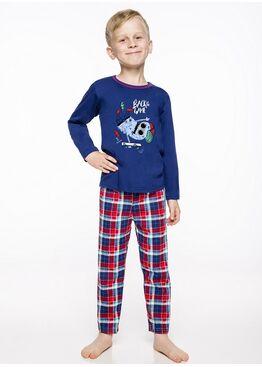 Пижама детская 2342/2343 19/20 LEO синий/красный, Taro