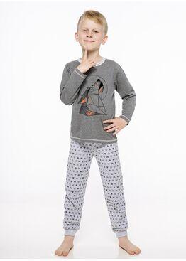 Пижама детская 2344/2345 19/20 CZAREK т.серый, Taro