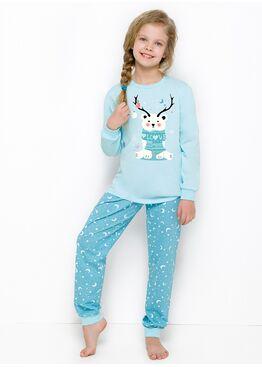 Пижама детская 433/434 18/19 Ada голубой