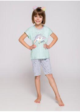 Пижама детская 2202/2203 19 Amelia мята