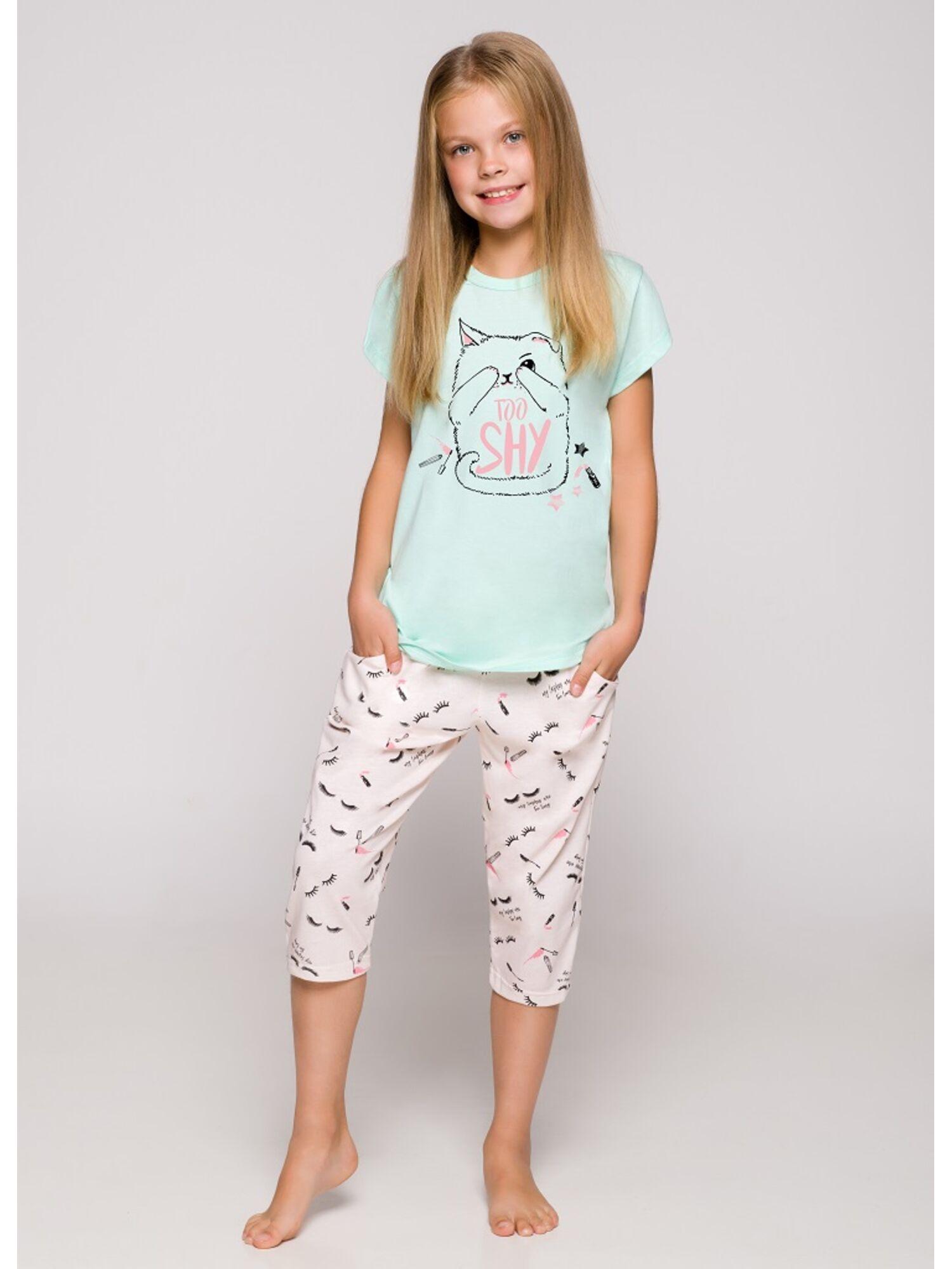 Пижама детская 2213/2214 19 Beki мята