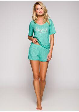 Пижама женская с шортами 2292 19 Bella бирюзовый