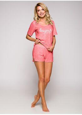 Пижама женская с шортами 2292 19 Bella розовый