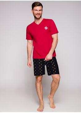Пижама мужская 2196/2212 19 Borys красный/черный