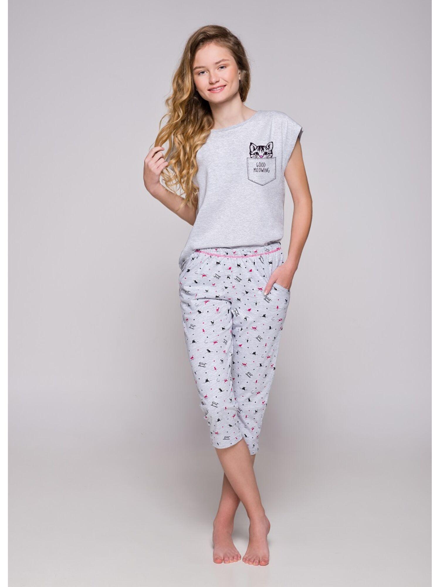 Пижама подростковая 2307 19 Etna серый