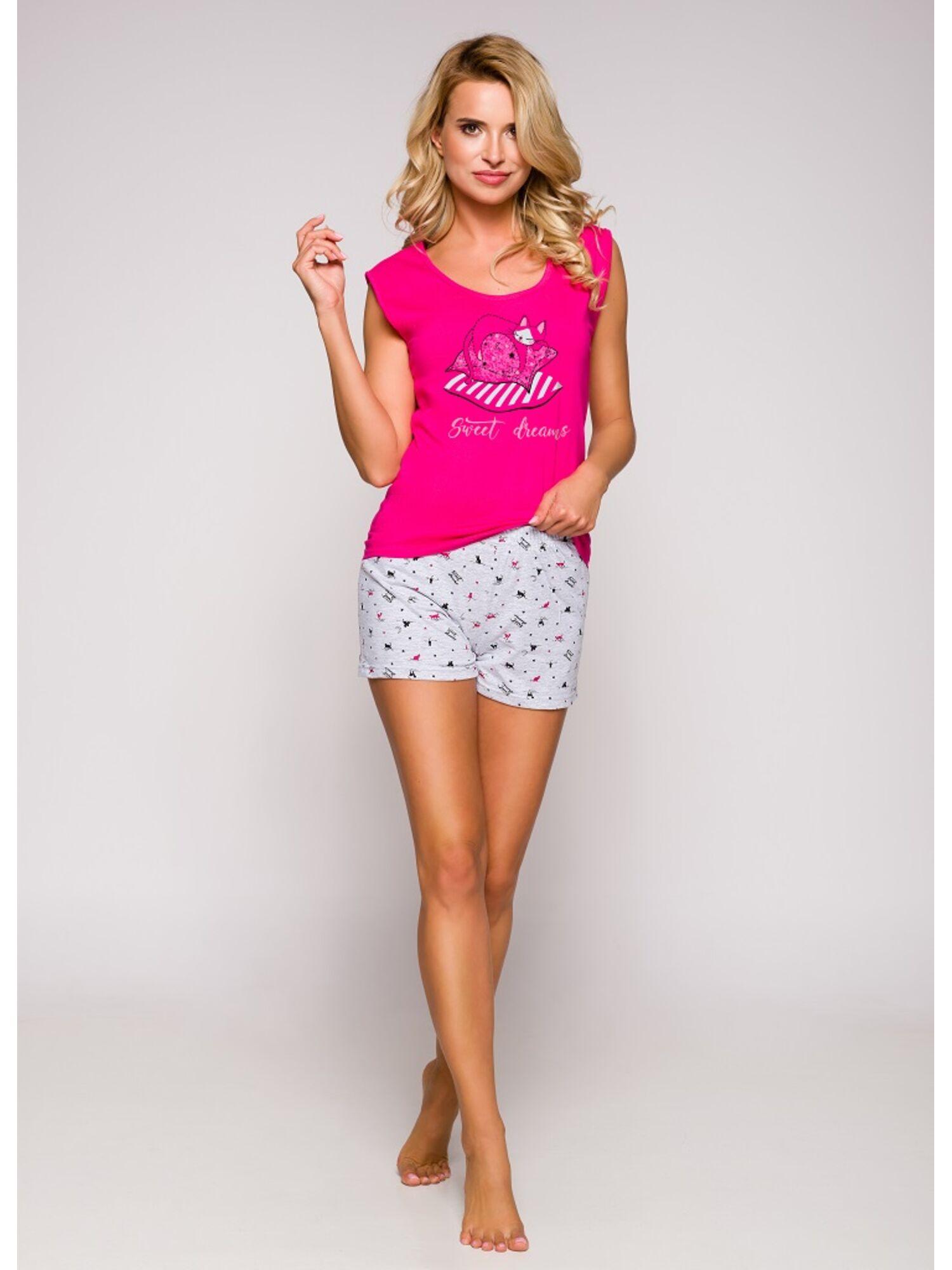 Пижама подростковая 2305 19 Eva розовый