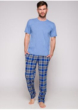 Пижама мужская 2199 19 Jeremi голубой
