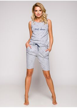 Пижама женская 2280 19 Joanna серый/синий